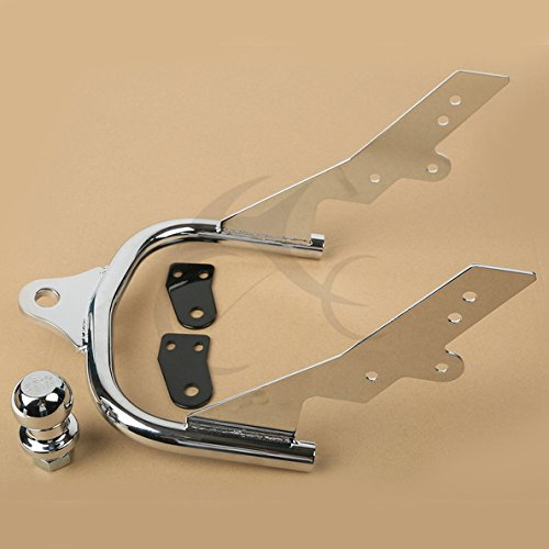 TCMT Motorcycle Chrome Trailer Hitch + Ball Fits For Harley Davidson FLHTCU Electra Glide Ultra Classic 2007-2008