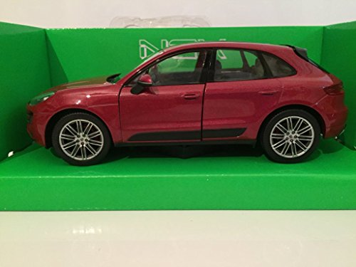 Welly - 24047 W - Porsche Macan Turbo - 2014 - 1/24: Amazon.es: Juguetes y juegos