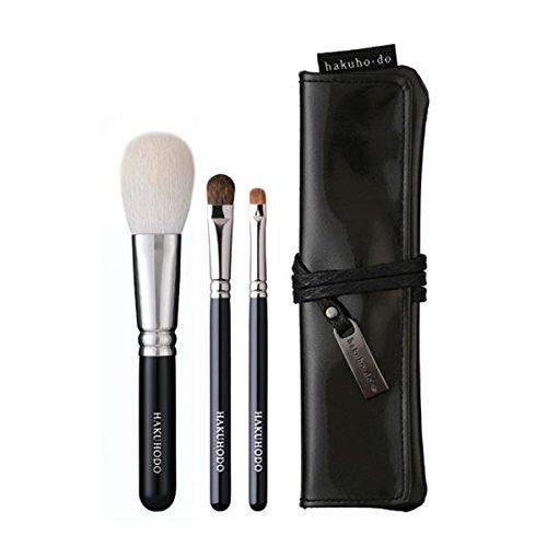 Makeup Brushes Sets - Basic Selection Brush Set 3 pcs HAKUHODO by HAKUHODO