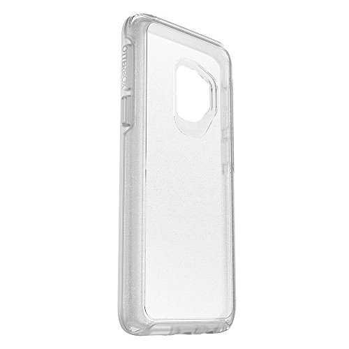 OtterBox SYMMETRY CLEAR SERIES Case for Samsung Galaxy S9 - Frustration Free Packaging - STARDUST (SILVER FLAKE/CLEAR)