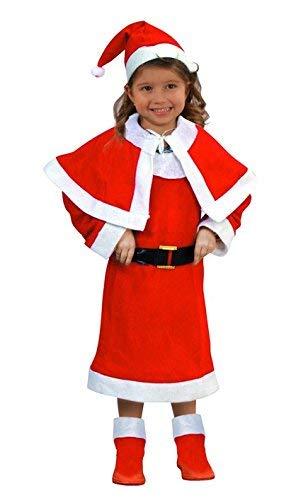 Atosa-69208 Atosa-69208-Disfraz Mamá Noel niña infantil-talla 7 a ...