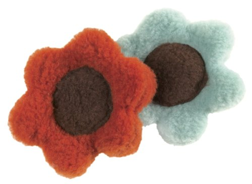 West Paw Design Flower for Cat Catnip-Filled Cat Toy with Bell, Assorted, My Pet Supplies