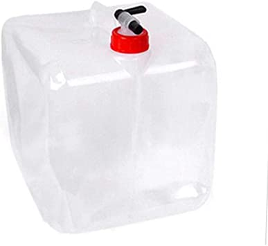 10L Foldable Collapsible Camping Drinking Water Storage Bag U9O3 Container E1J7
