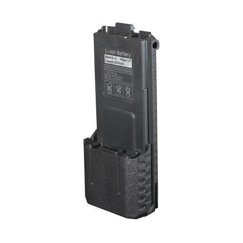 Baofeng 7.4v 3800mAh Li-ion Battery for UV-5R-1 UV-5R-2 UV-5R-3 UV-5R-4 UV-5R-5 UV-5R-6 UV-5R-7 UV-5R-L BF-F8 BF-F8+ BF-F9, Outdoor Stuffs