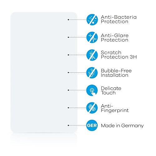 upscreen Bacteria Shield Matte Pellicola Protettiva Opaca per Apple iPhone 8 Plus Proteggi Schermo Antibatterica, Antiriflesso