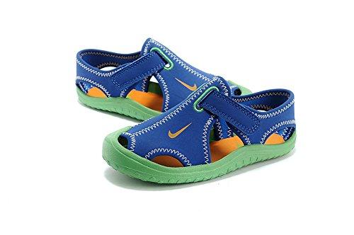 Jungen Wasserdicht Sport Sandale Sandalen geschlossen Zehen Athletic Outdoor Sandalen