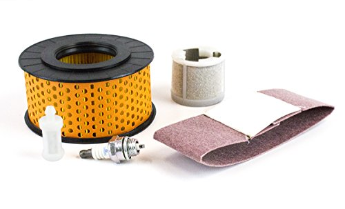 Maintenance kit for Stihl TS460 Includes Spark Plug Air Filter Fuel Filter