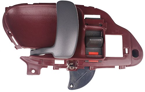 Door Chevy 3500 Truck Pickup (95-00 Chevy Pickup Truck Door Handle Inside RED - LH)