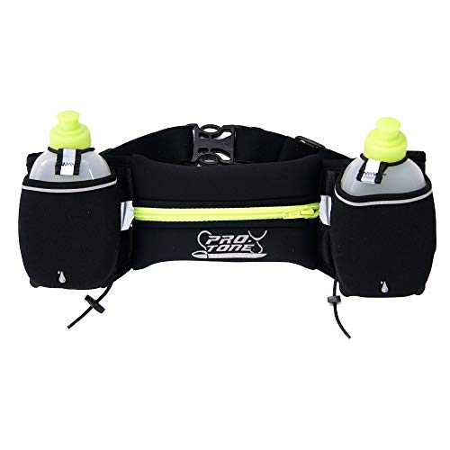 PROTONE hydration belt and water bottles/storage pocket for...
