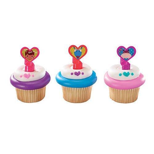 Doc McStuffins Cupcake Rings]()