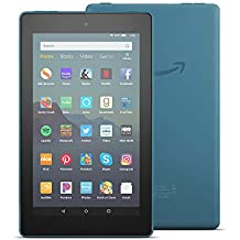 "Certified Refurbished Fire 7 Tablet (7"" display, 16 GB) - Twilight Blue"