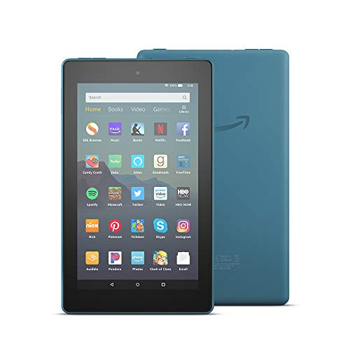"All-New Fire 7 Tablet (7"" display, 16 GB, with Special Offers) - Twilight Blue"