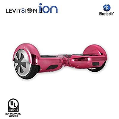 "LEVIT8ION ION 6.5"" Hoverboard -Self Balancing Scooter 2 Wheel Electric Scooter - UL Certified 2272 With Bluetooth And LED Lights from Levit8ion"