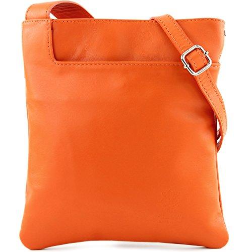 modamoda de - Made in Italy - Bolso cruzados para mujer naranja