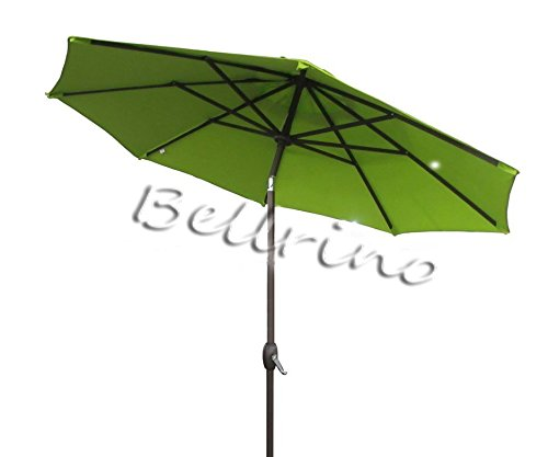 BELLRINO DECOR Replacement SAGE GREEN STRONG THICK Umbrella Canopy for 10ft 8 Ribs Canopy Only