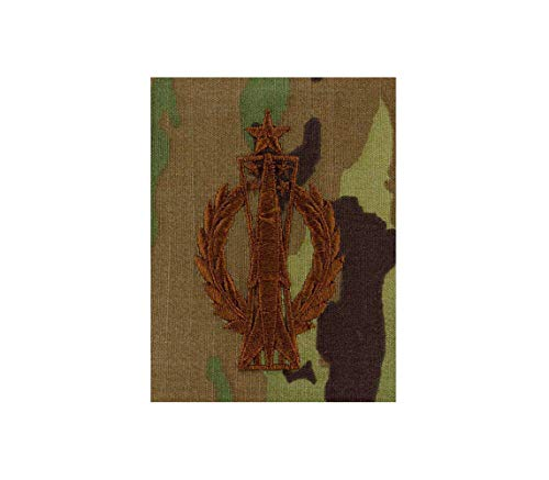 US Air Force Missile Operator Senior OCP Spice Brown Badge