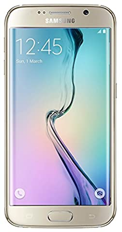 Samsung Galaxy S6 Edge G925v 128GB Verizon CDMA 4G LTE Octa-Core Smartphone w/ 16MP Camera - Gold (Galaxy Cdma Unlocked)