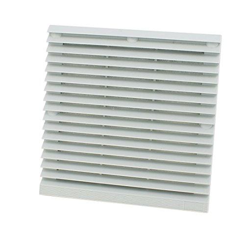 Aexit Gray 204mm Fans & Cooling x 204mm Plastic Cabinet Washable Axial Flow Fan Foam Case Fans Dust Filter