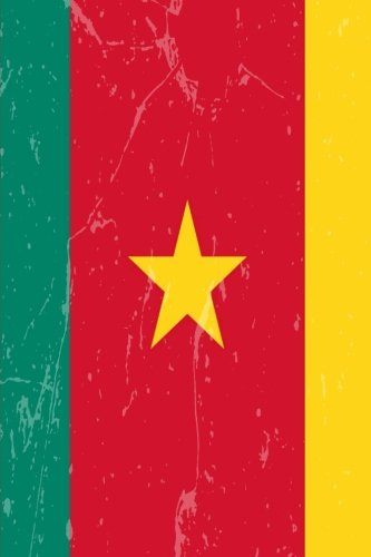 Cameroon Flag Journal: Cameroon Diary, lined Journal to write in