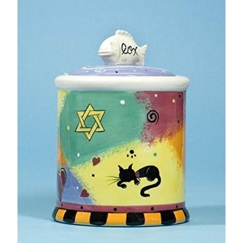 outlet Lox Cat Treat Jar