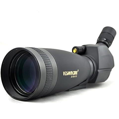 Visionking Spotting Scope 30-90x100SS Spottingscope Large Ocular Waterproof Powerful Telescope (90x Spotting Scope)