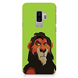 Loud Universe Mufasa Triangular Samsung S9 Plus Case Lion King Samsung S9 Plus Cover with 3d Wrap around Edges
