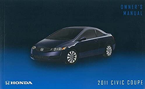 2011 honda civic coupe owner s manual original 2 door honda acura rh amazon com honda civic 2012 owners manual honda civic 2012 owners manual