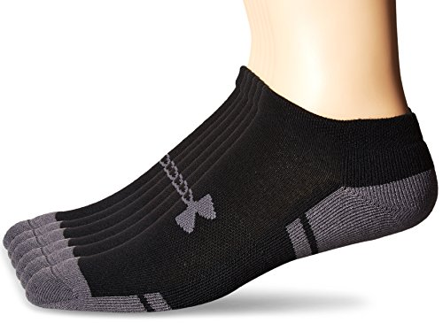 Under Armour Men's Resistor No-Show Socks (6 Pack)