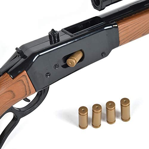 Black Sunny Days Entertainment Maxx Action 30 Toy Bolt Action Rifle with Electronic Sound