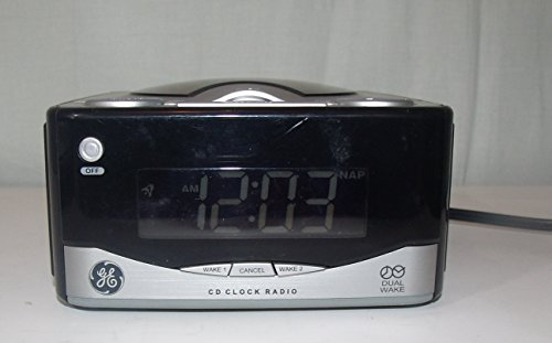 GE 74801 Dual wake Clock Radio