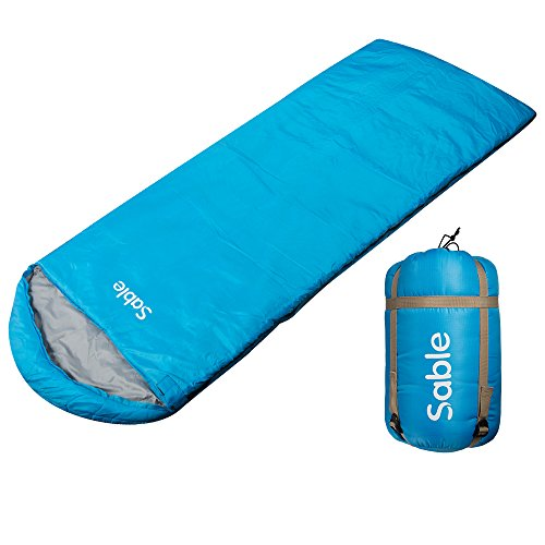 Sleeping Bag for Men Women, Envelope Lightweight Portable, Waterproof, Comfort with Compression Sack for 4 Season Traveling, Camping, Hiking & Outdoor Activities Review