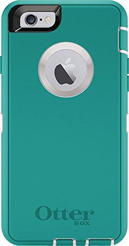 Rugged Protection OtterBox Defender Case for iPhone 6/6s, Case Only - Bulk Packaging - Seacrest (Whisper White/Light Teal)