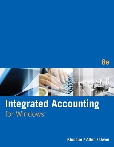 Integ.Accounting F/Windows W/Cd