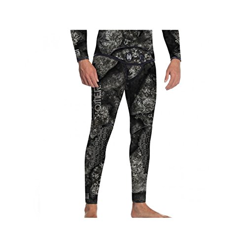 Omer Blackstone 7mm Men's Spearfishing Camo Wetsuit Pants Camouflage Bottoms (MD) by Omer (Image #1)