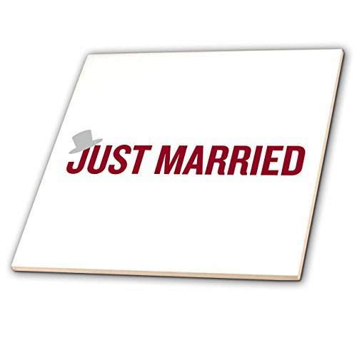 Amazon 60dRose EvaDane Quotes Just Married Top Hat Gorgeous Just Married Quotes