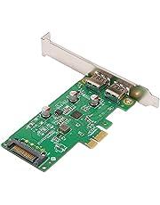 BTUWRUI PCIex1 naar Type-A Dual Port USB uitbreiding desktop PCIE naar 4-poorts USB 3.0-kaart