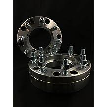 "Customadeonly 4pcs 2"" Bolt Pattern Conversion Wheel Adapters   5x5.5 5x139.7 to 8x170   14x1.5 Studs -Fit 8x170 Wheels On 5x139.7 (5x5.5) Hubs"