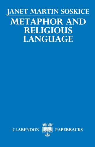 Metaphor and Religious Language by Janet M Siskice