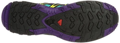 Salomon XA Pro 3D GTX W, Zapatillas de Trail Running Para Mujer Morado (Acai/Black/Dynasty Green 000)