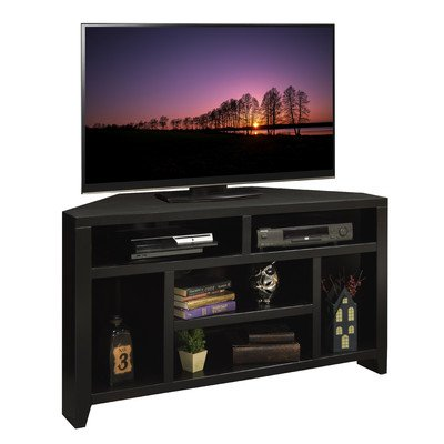 Tv Maple Corner Stand (Urban Loft Collection Corner TV Cart, 52-Inch)