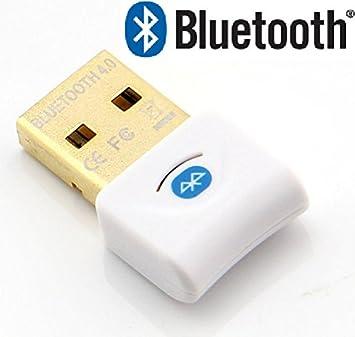 Adaptador dongle Bluetooth Redgear 4.0 USB para ordenador chapado en oro, transmisor y receptor de