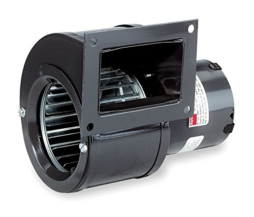 (Dayton 4C446, 6FHX8 Rectangular Shaded Pole OEM Specialty Blower with Flange, Wheel Dia: 3-13/16