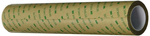 3M 9495LE Adhesive Transfer Tape – 0.125 in. x 180 ft. Double Coated Polyester Tape Roll with 300LSE Laminating Adhesive…