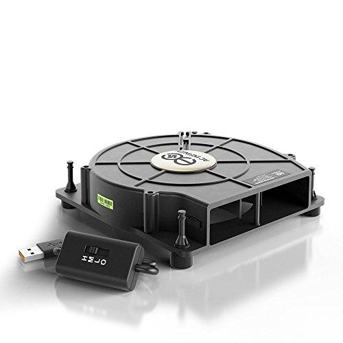 Ac infinity multifan s2 quiet 120mm usb blower fan with for Multi speed blower motor