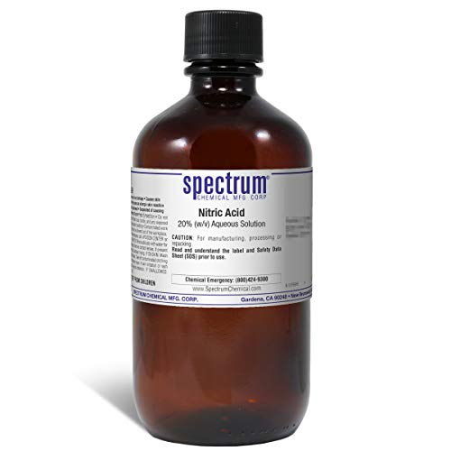 Spectrum N-170-1LT (SPFDB) Nitric Acid, 20 Percent (w/v) Aqueous Solution, Reagent, Lab Grade