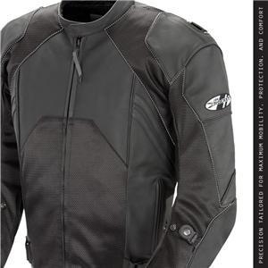 Joe Rocket Mens Radar Leather Race Motorcycle Jacket, (Pocket Rocket Races)