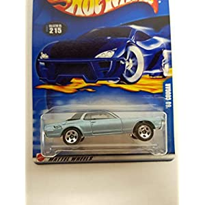 '68 Cougar Hot Wheels 2002 diecast 1/64 scale car No. 215