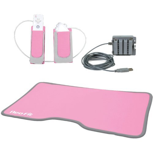 3-In-1 Lady Fitness Comfort Workout Kit - Nintendo Wii by dreamGEAR