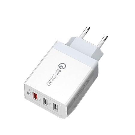 YHML QC3.0 Cargador USB para Apple iPhone 30W Cargador ...