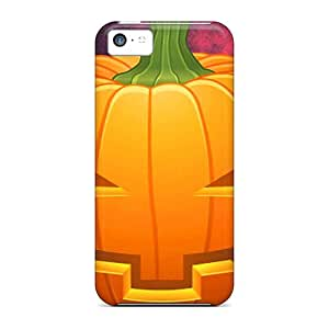 Pumpkin Shock Absorbent mobile phone carrying shells Perfect Design Abstact Iphone5c iphone 5c